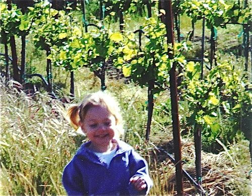 Kids love vineyards and wine tasting!