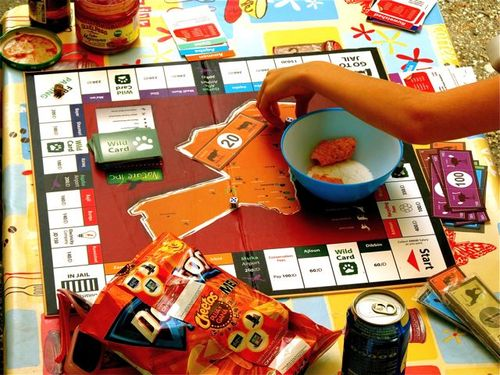 travel benefits for kids like playing Jordan Monopoly in Spain