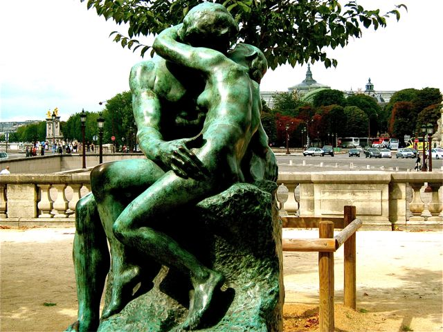 Paris for lovers - romantic - The Kiss by Rodin