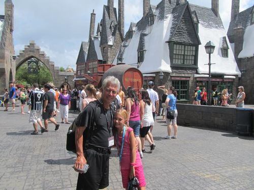 fun at wizarding world of Harry Potter in Orlando