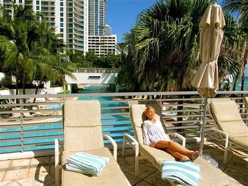 sun and surf Florida winter getaway