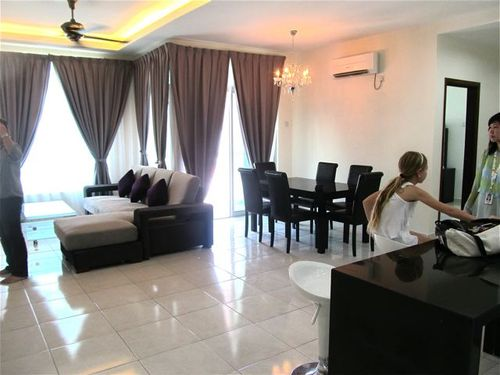 looking for rental apartments in Penang, this was our 2nd choice