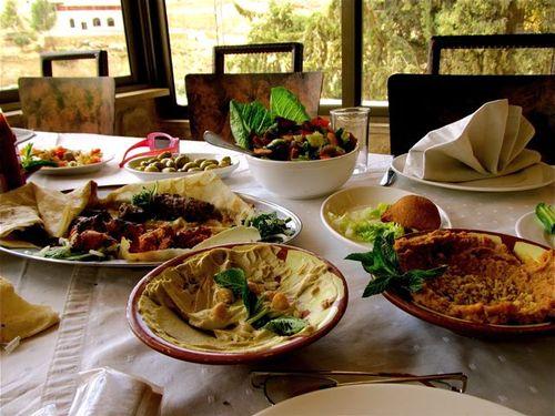 amazingly delicious food in jordan