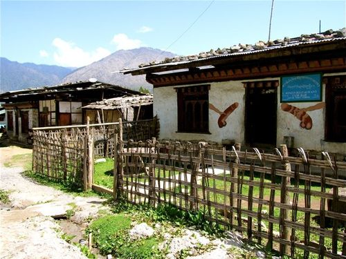 Penis art and phallic paintings in Bhutan