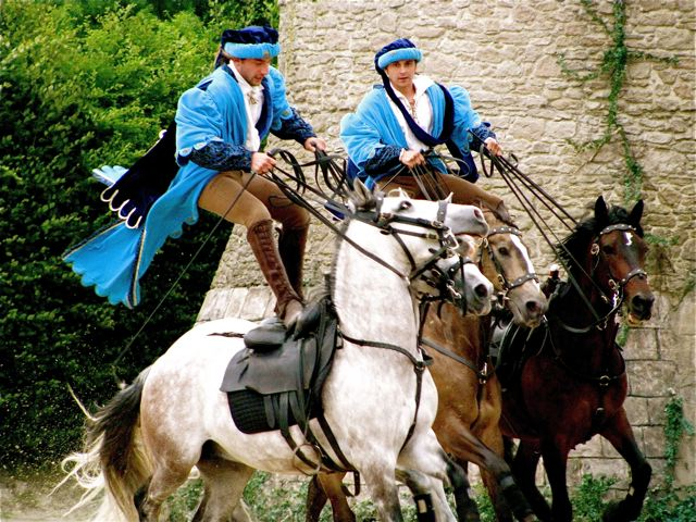 Family trip to France, don't miss these horses at Puy du Fou!