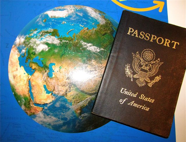 travel the world - get your passport and go!