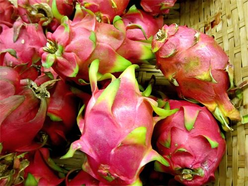 colorful exotic tropical fruit in Asia