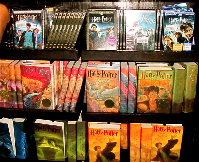 harry potter books and travel locations