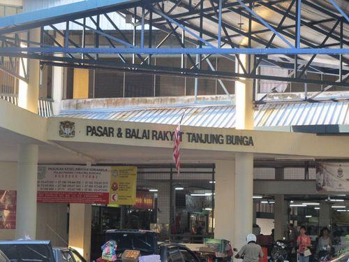 market in Penang