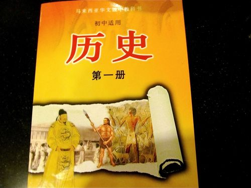 Mandarin Chinese school books -history