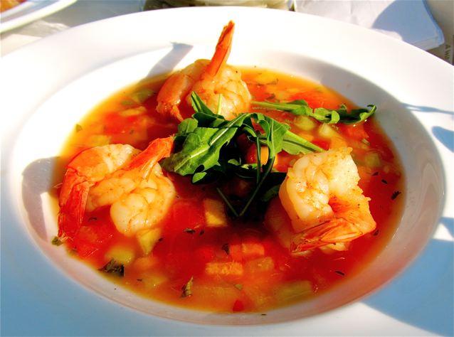yummy pink shrimp in key west