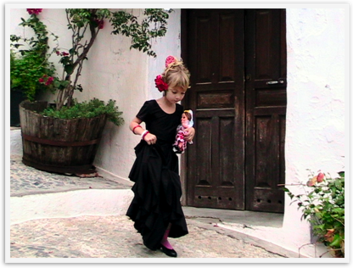 Flamenco beauty in Spain