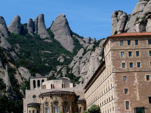 montserrat near Barcelona a Catalan UNESCO heritage site