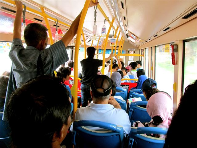 pros, cons and tips for taking the bus in Penang