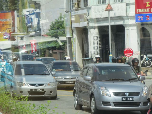 endless congestion in Penang- accidents are 4x the national average