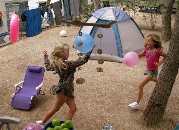 camping europe with kids means bargain prices and LOTS of fun!