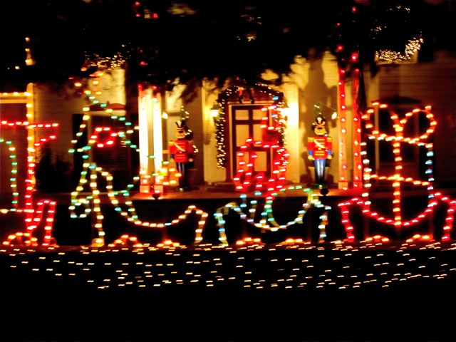 candy cane lane christmas lights