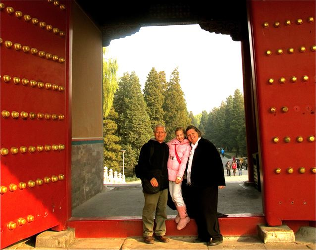 around the world family travel an open door in China