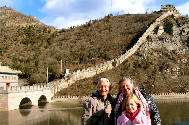 Great wall of China -soultravelers3 travel family on China trip