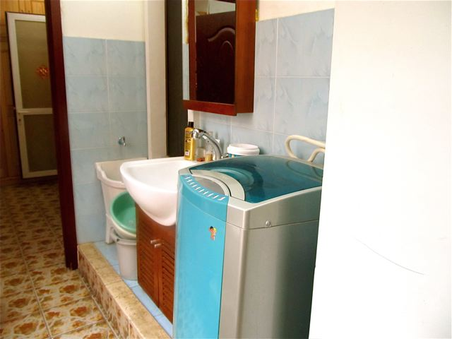 washer in China and laundry room