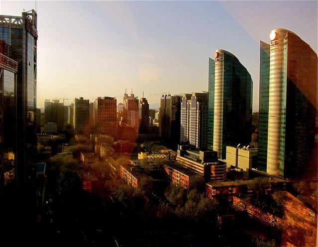 Fairmont Beijing hotel view