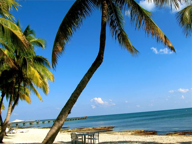 Key West - gorgeous tropical beach