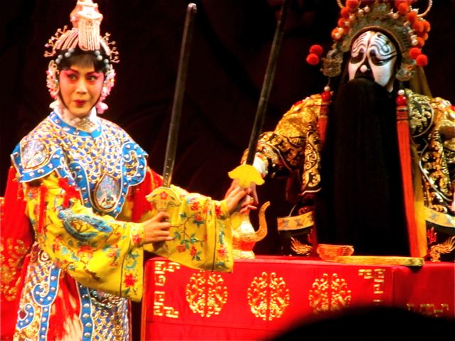 China trip - Peking Opera