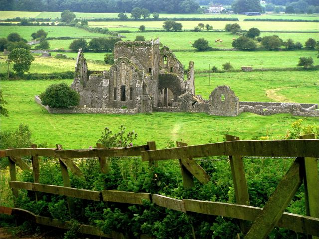 Ireland travel with kids means castles and green magic of the Emerald Isle