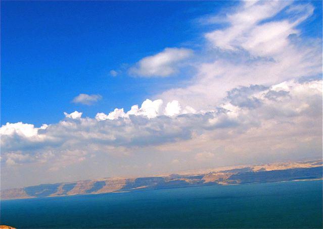 stunningly beautiful Dean Sea photo