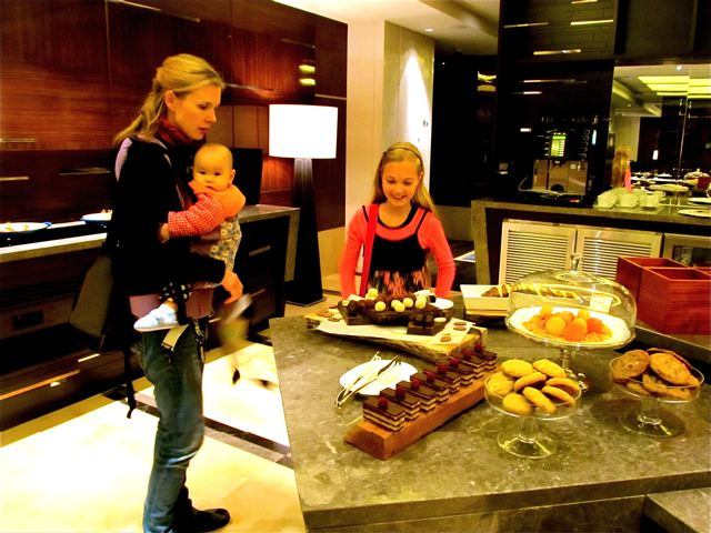 Four Seasons Beijing yummy treats at the Executive Club