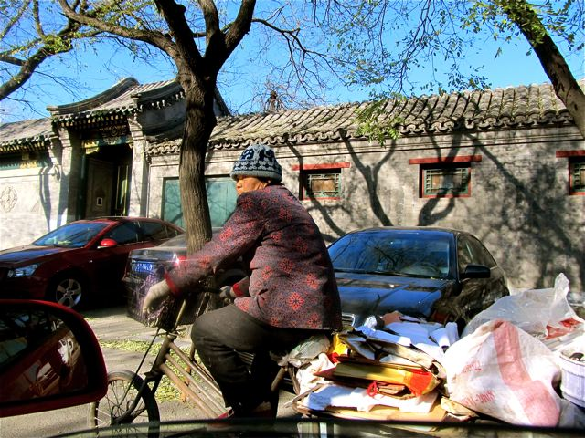Biking in Beijing