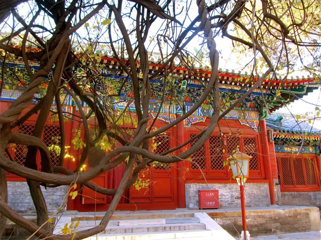 China travel - beautiful ancient temples