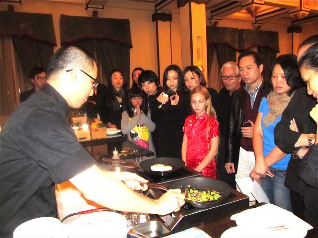 Fairmont Peace Hotel Master Chef Steve Liu