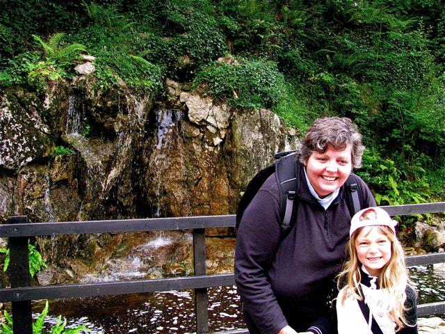 family hiking and biking Ireland