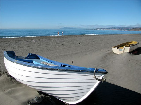 boats, beach and bliss on the Costa del Sol in winter