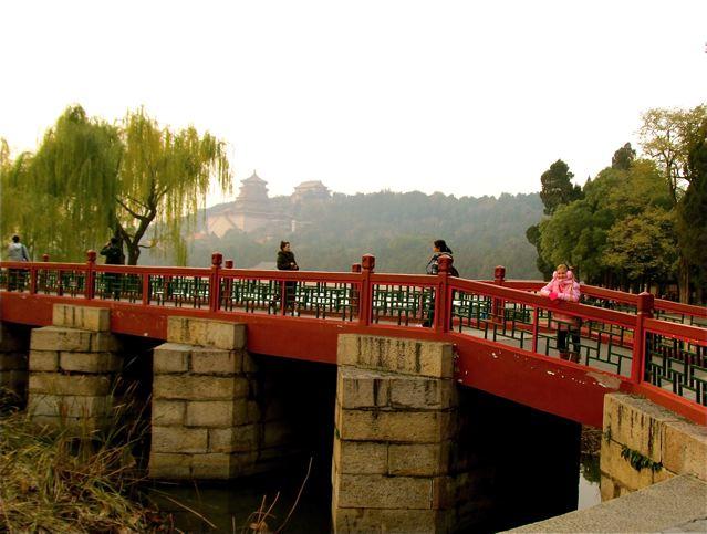 beautiful bridge and being a bridge through language