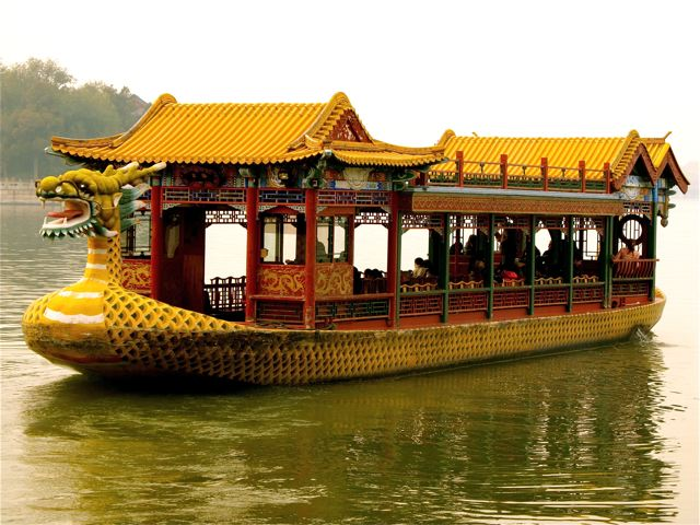 summer palace dragon boat beijing travel