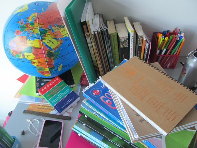 globe and books - languages expand our world