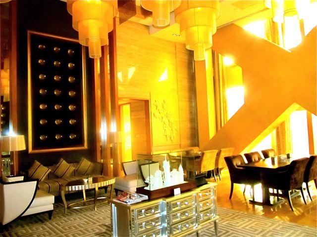 Fairmont Beijing hotel Gold Lounge