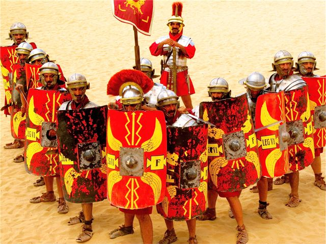 Top ancient Roman and Greek sites sometimes have Roman army shows - fab for family travel