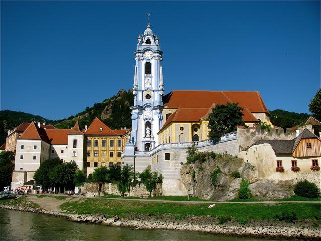 Durnstein in Austria wine country