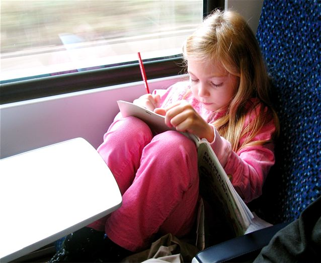 London train travel with kids