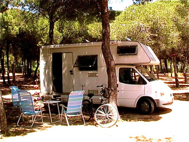 motorhome camping in Europe