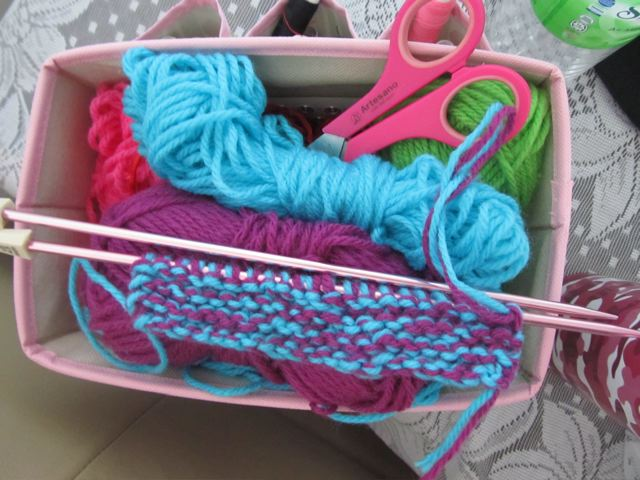 knitting homeschool fun