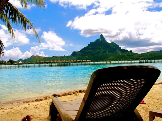 Permacation in Tahiti...on  a cheap budget