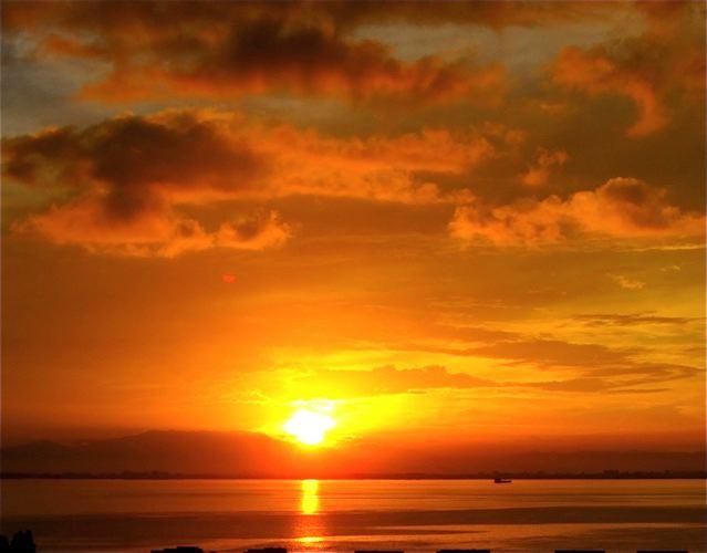 stunning sunrise and vitamin D