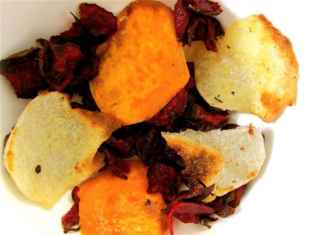 Yummy, healthy chips recipe