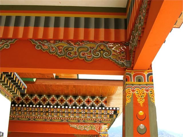 Bhutan Travel and beautiful architecture