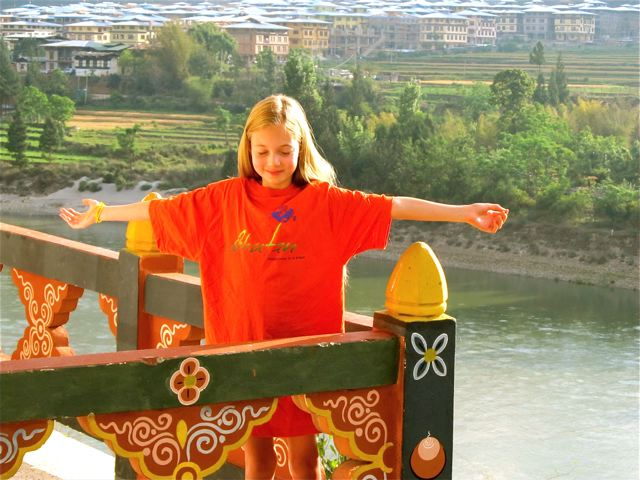Long term family travel - finding peace in Bhutan