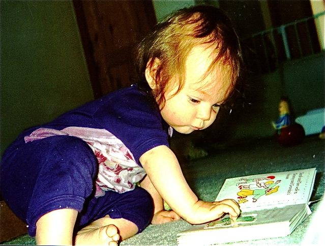 Babies learning languages means lots of books, reading, singing and conversations with native speakers